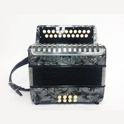 The Wren Gray Accordion B/C 23 Button Accordion