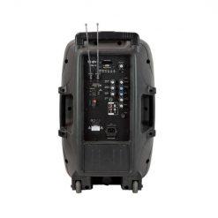 QTX PAL12 Portable PA unit with LEDs