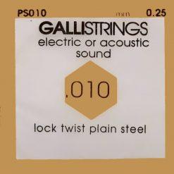 Galli Single String PS010 plain steel.