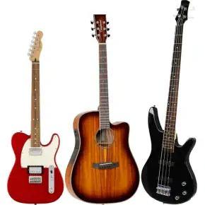 Guitars and Basses