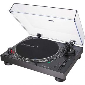 Audio Technica Direct-Drive Turntable (Analog & USB) Silver AT-LP120XUSBHCSV