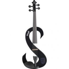 Stagg 4/4 electric violin set KVN44BK