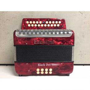Frontini 2 Row Button Accordion Red