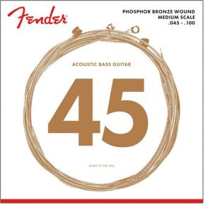 Fender Phosphor Bronze Acoustic Bass Strings