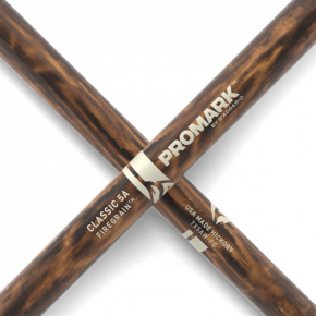 Promark CLASSIC 5A FIREGRAIN Hickory Wood Tip Drumstick