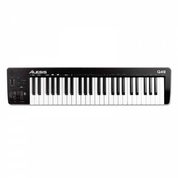 Alesis Q49 MKII 49-Key USB-MIDI Keyboard Controller.