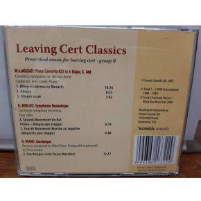 Prescribed Music for leaving Cert Group B