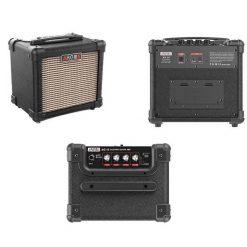 Aroma AG10BK 10W Black Electric Guitar Portable Amplifier