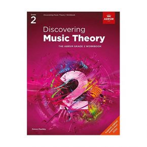 Discovering Music Theory, The ABRSM Grade 2 Workbook 9781786013460