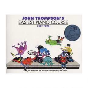 John Thompson's WMR101035 Easiest Piano Course Part 4 & CD