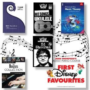 Music Books & Sheet Music