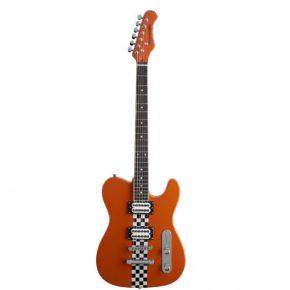 Stagg Nitro Electric Guitar Orange