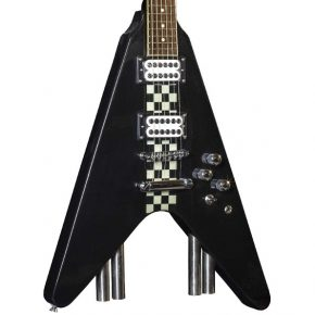 Stagg G Force Electric Guitar Flying V Style Black