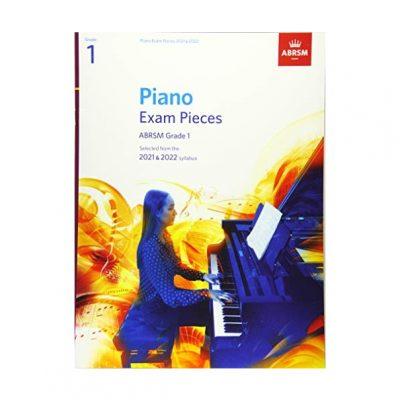 Piano Exam Pieces 2021 & 2022, ABRSM Grade 1 9781786013873
